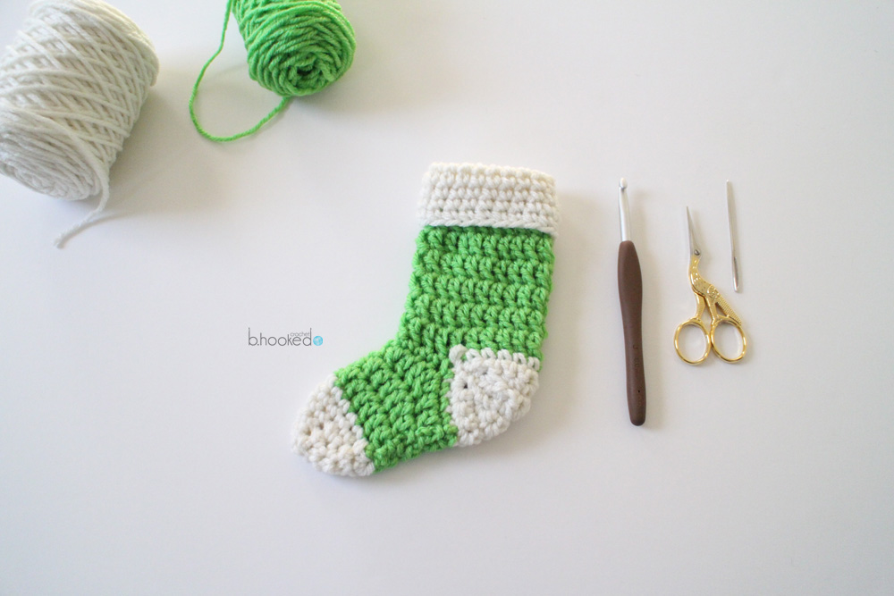 Mini Crochet Stockings