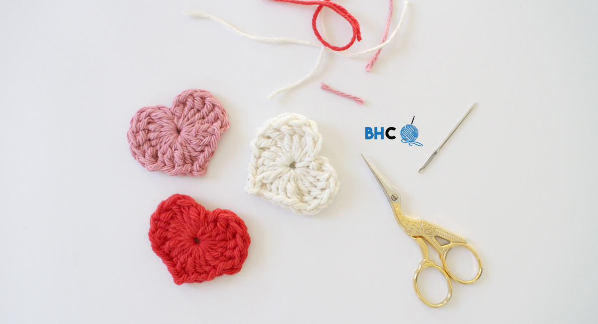 Magic Crochet Hearts