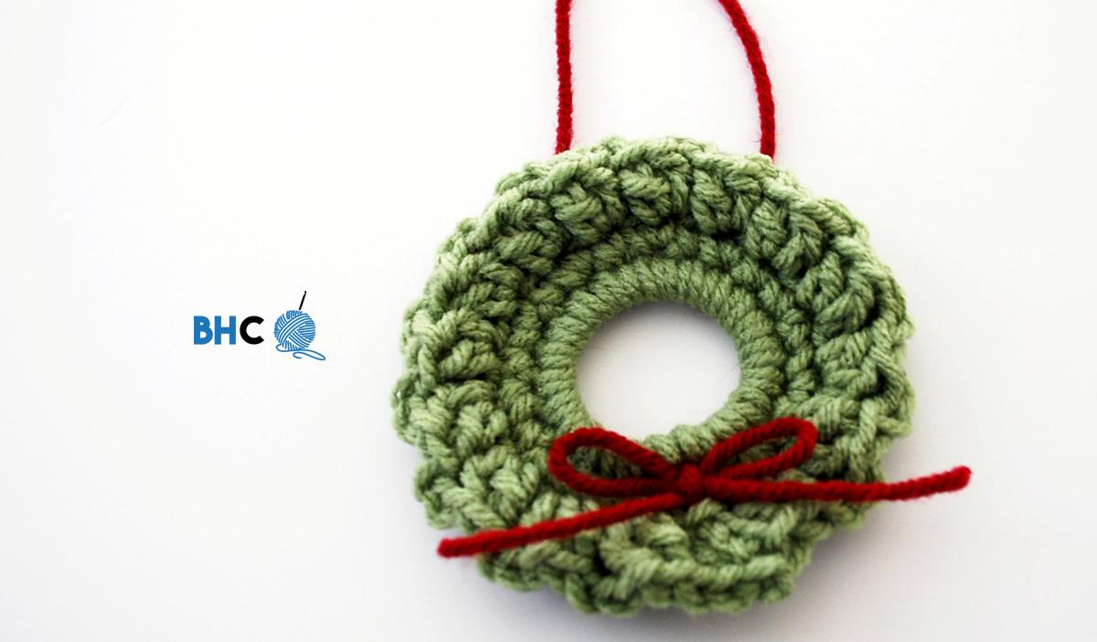 Mini Crochet Wreath