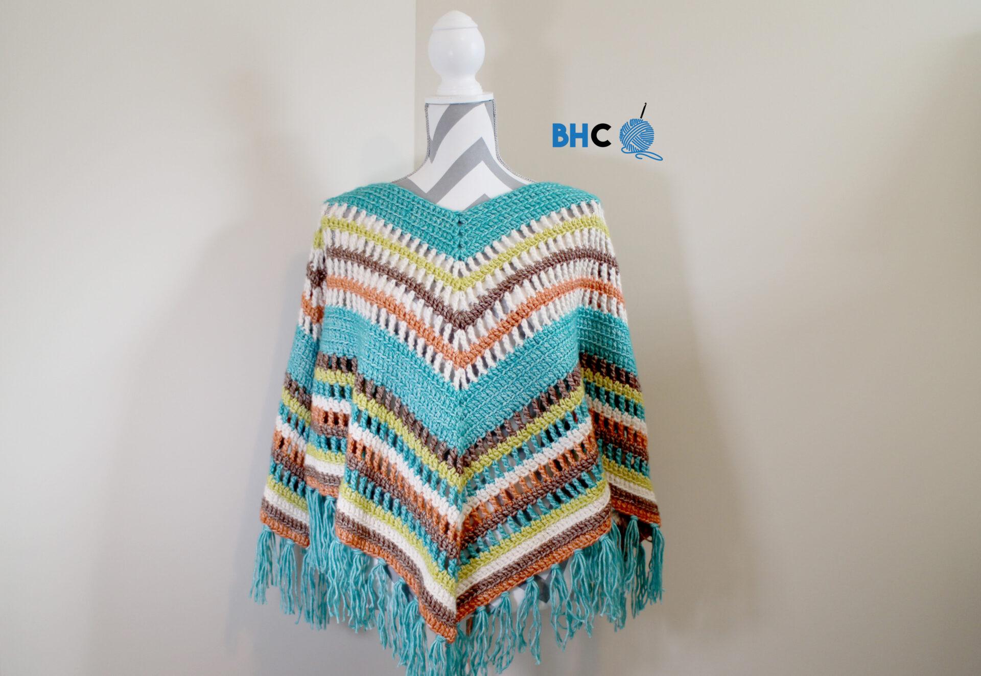 Fall Crochet Poncho – Crochet Along