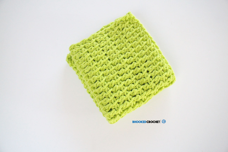 Tunisian Crochet Wash Cloth Series: Pattern Two