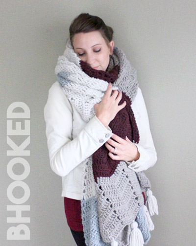 Chevron Crochet Wrap