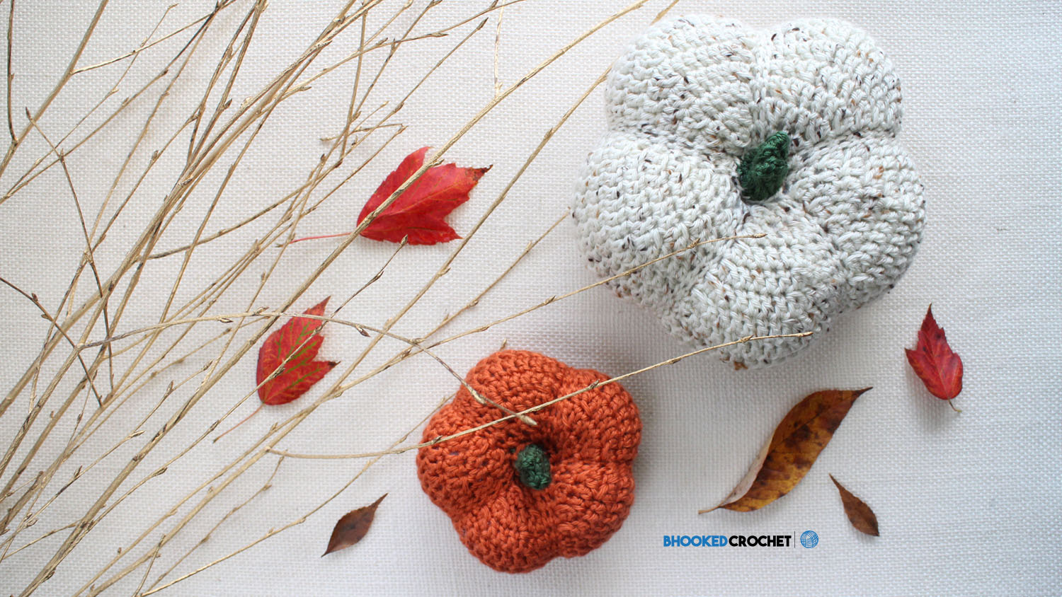 How to Crochet Pumpkins from Yarnspirations