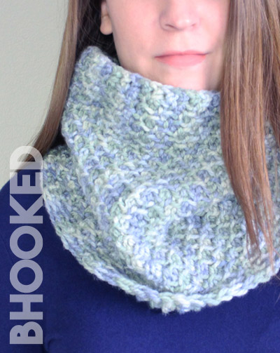 Easy Tunisian Crochet Cowl