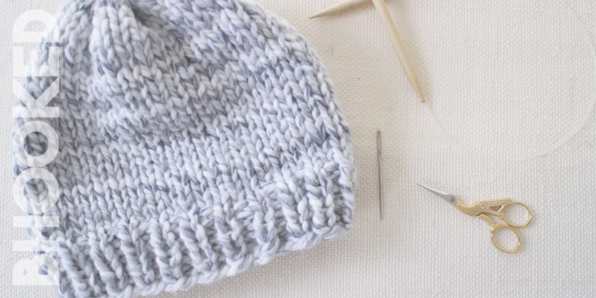 Easy Knit Hat – How to Knit a Hat for Complete Beginners