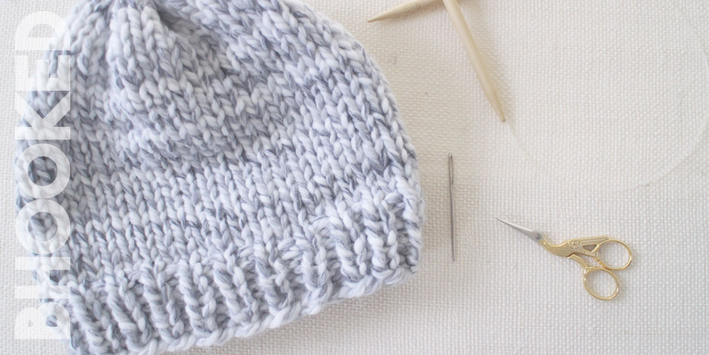 How to Knit a Hat for Complete Beginners Easy Knit Hat