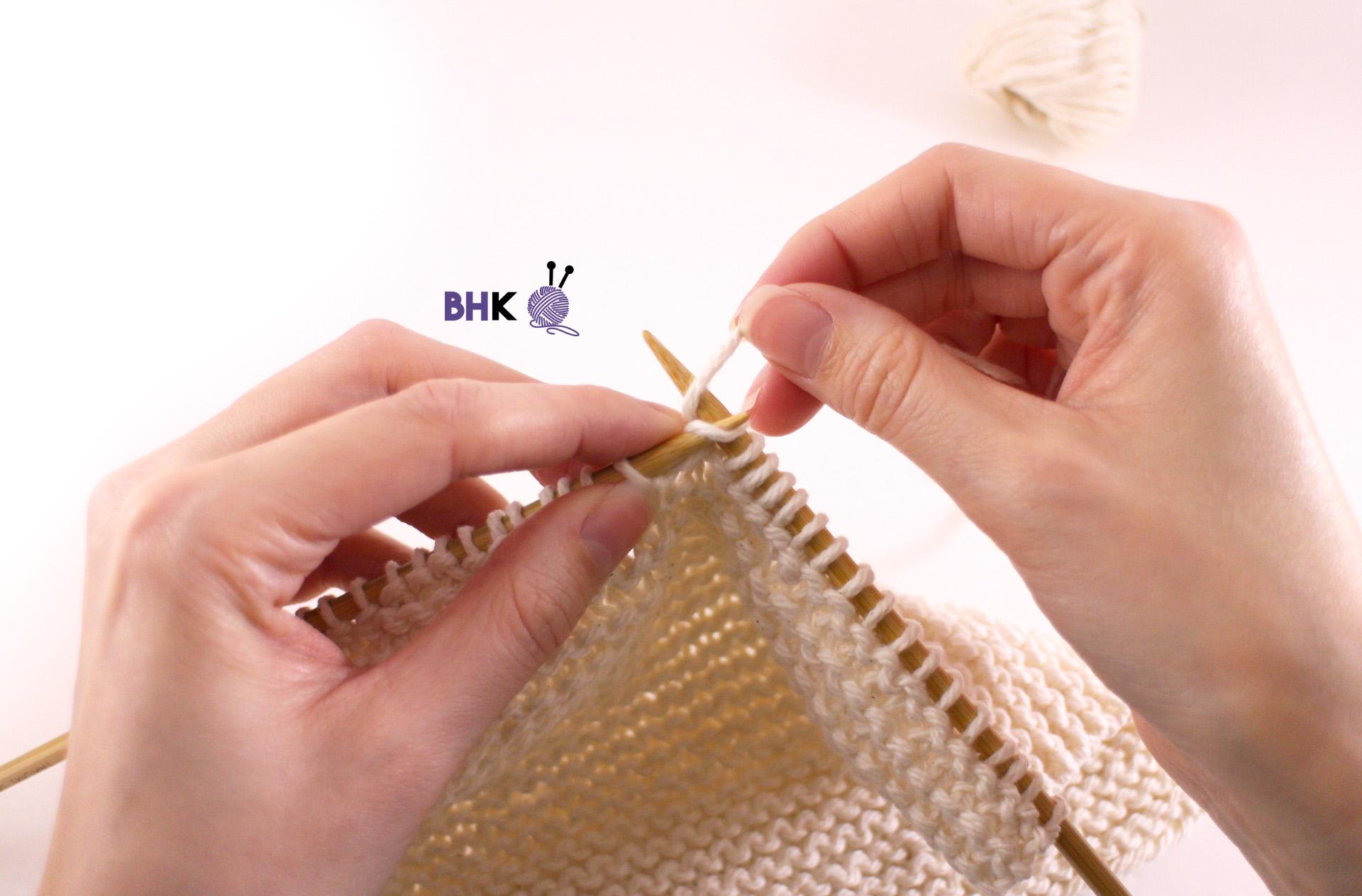 Continental Knitting vs. American Knitting