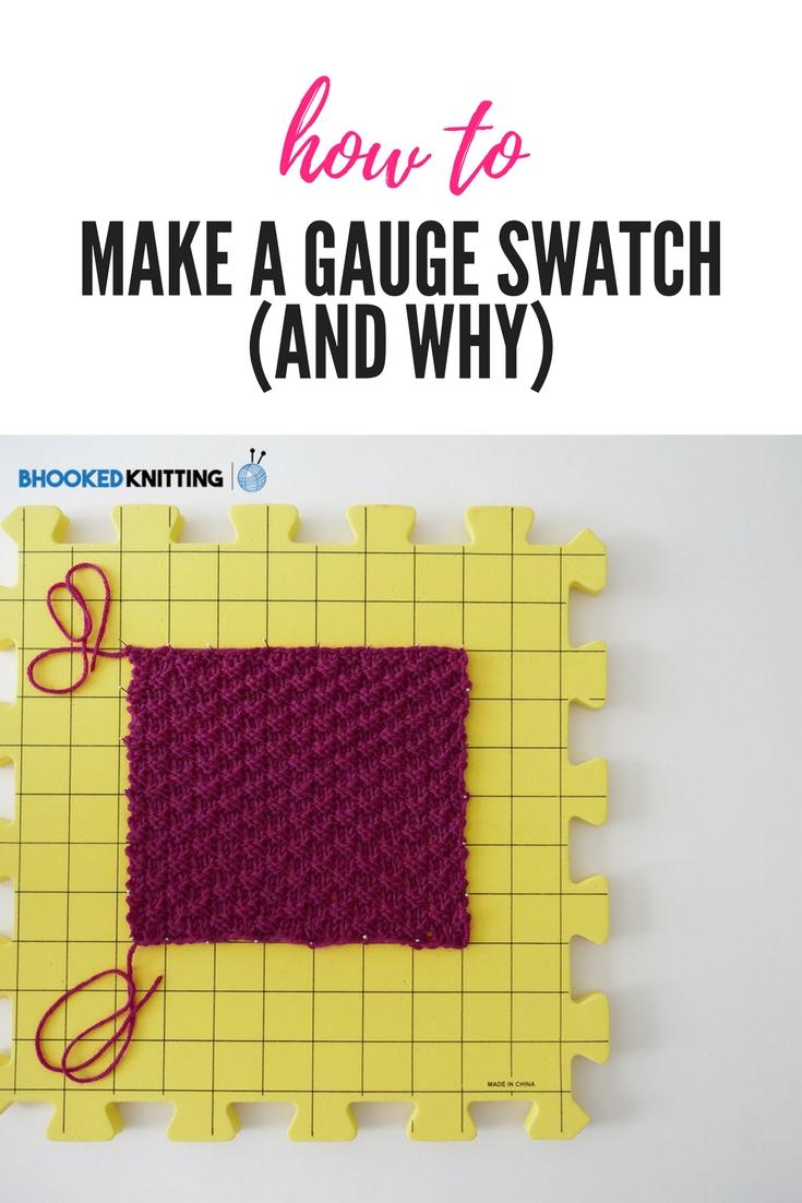 gauge swatch