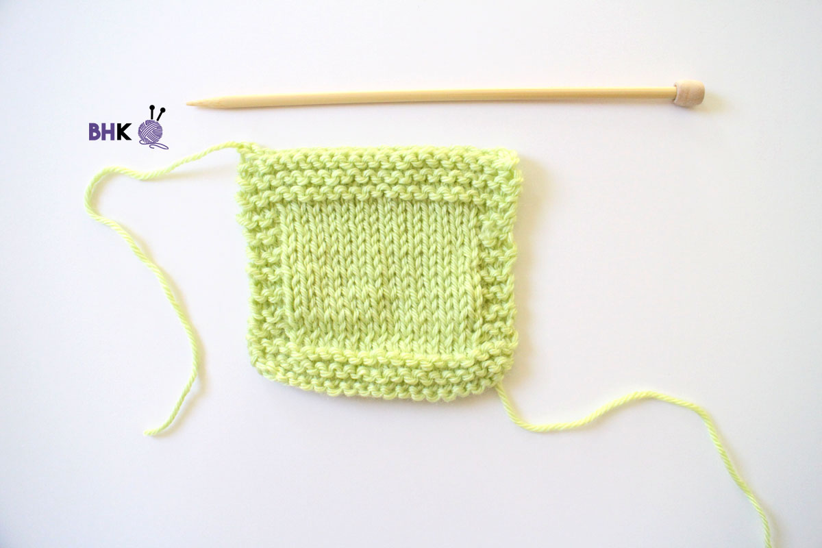 Simple Knitting Bind Off