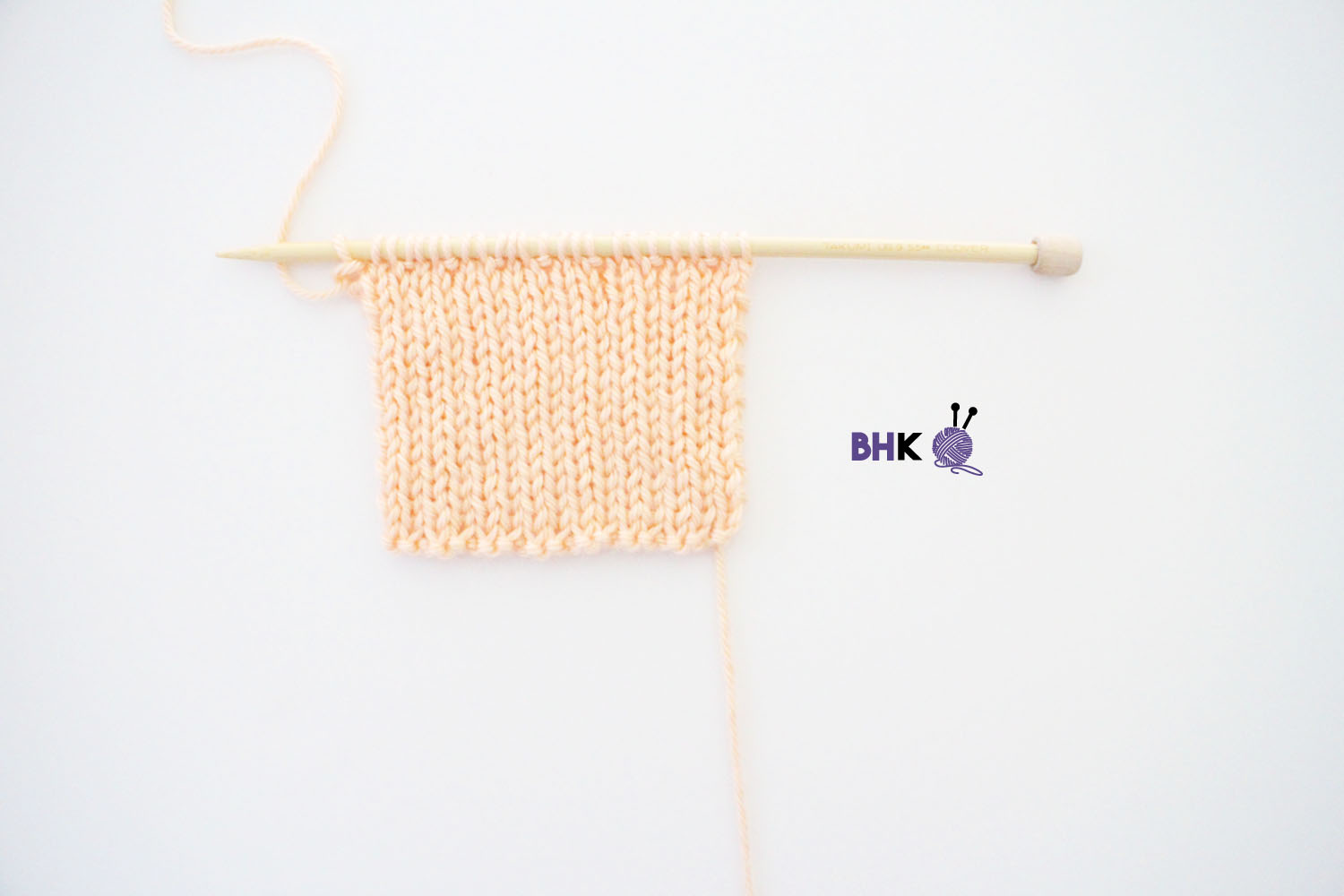 How to Knit the 2×1 Rib Stitch