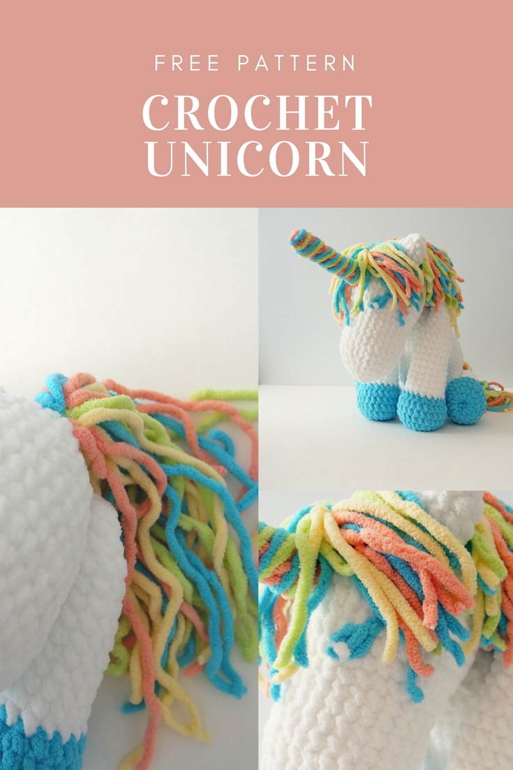 crochet unicorn