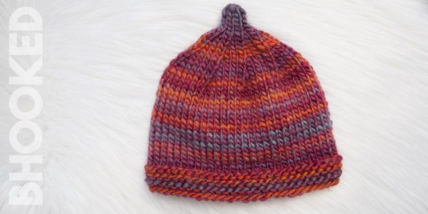 Knit Pixie Hat