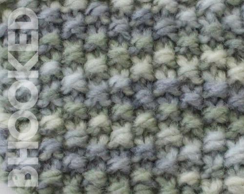 Knit Seed Stitch