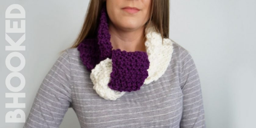 Knotted Knit Cowl