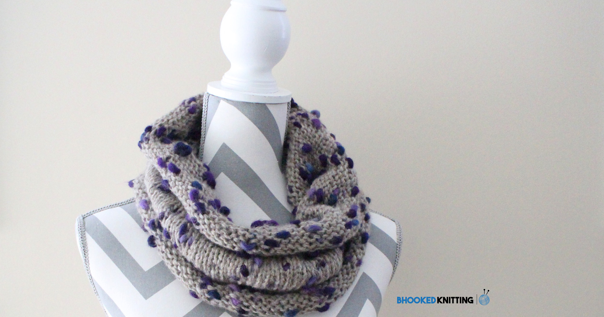 """Peak"" Knit Cowl Pattern"