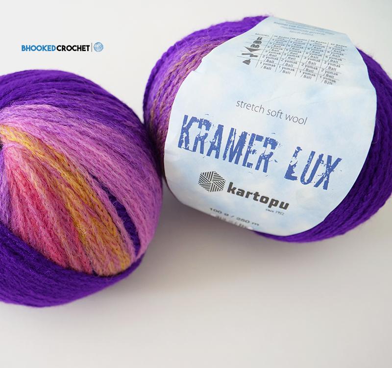 Kramer Lux Yarn Purple