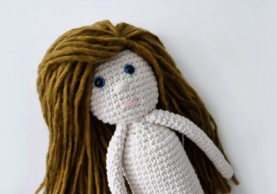 """Abby"" the Crochet Doll"