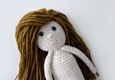 """""""Abby"""" the Crochet Doll"""