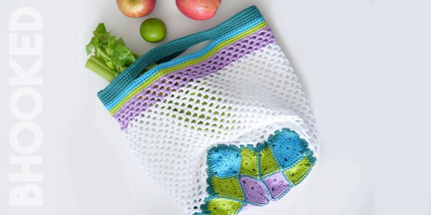 Blooming Crochet Market Bag