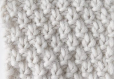 Knit Double Moss Stitch