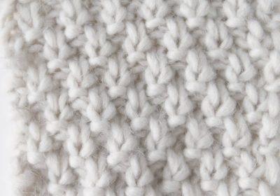 Knit Double Moss Stitch
