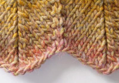 Knit Chevron Stitch