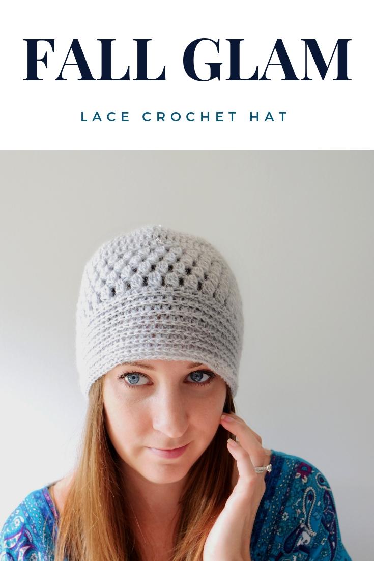 lace crochet hat