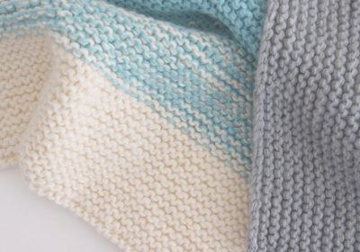 Easy Knit Baby Blanket