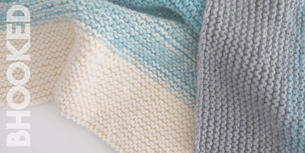 Easy Knit Baby Blanket For Beginner Knitters