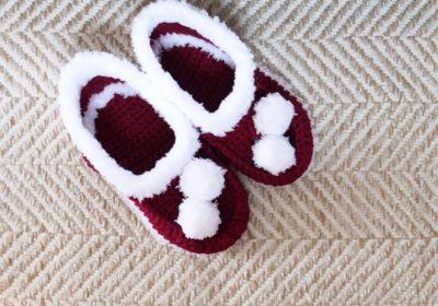 Basic Crochet House Shoes