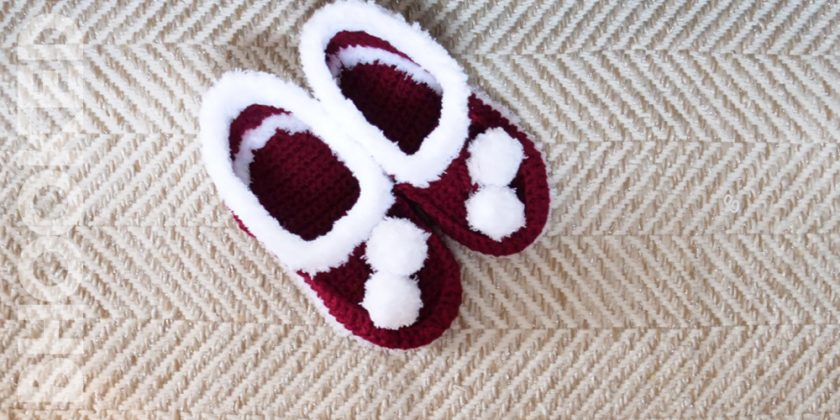 Basic Crochet House Shoes