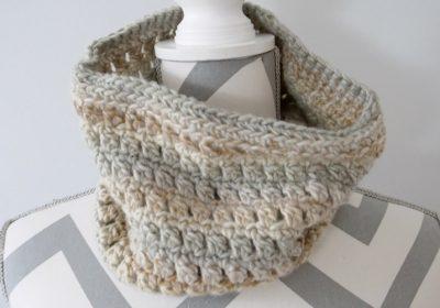 Colorscape Crochet Cowl
