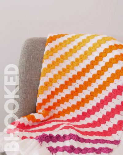 corner to corner baby blanket