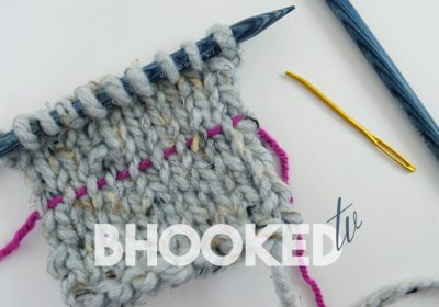 B.Hooked TV Episode 13: Fix Knitting Mistakes Several Rows Down