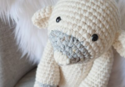 """""""Lucy"""" the Crochet Sheep"""