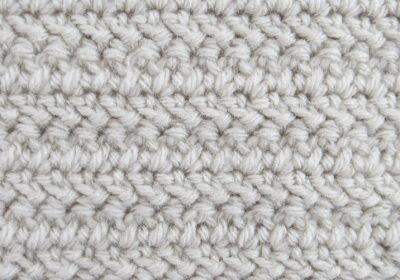 Herringbone Double Crochet Stitch