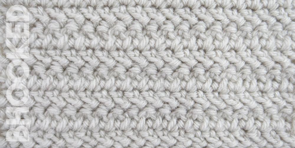Herringbone Double Crochet | Crochet Stitch Tutorial