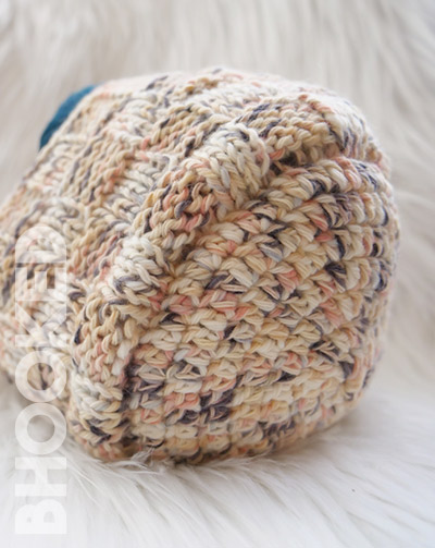 Crochet and Knit Basket