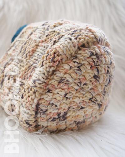 Crochet and Knit Basket