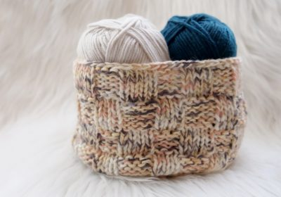Crochet & Knit Basket