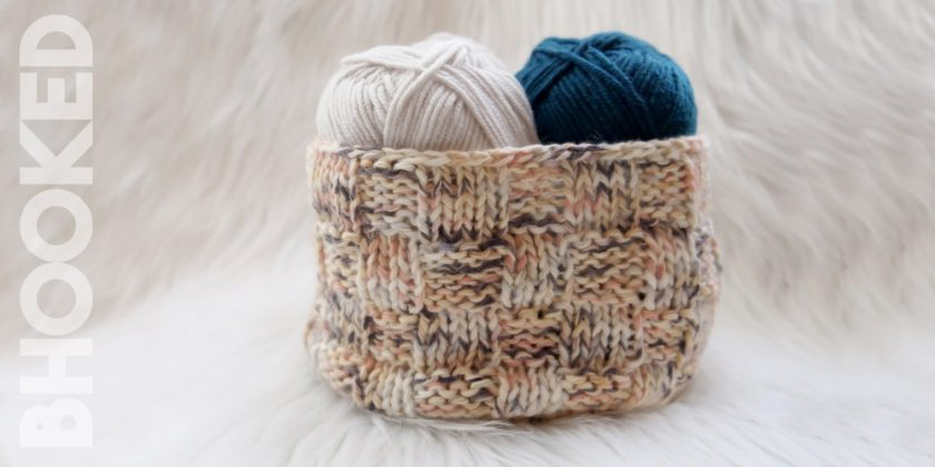 Crochet & Knit Basket