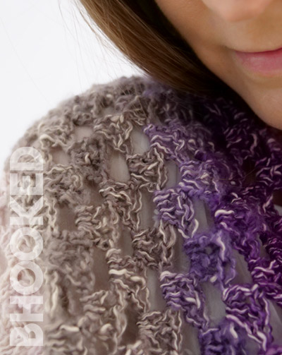 one skein crochet shawl
