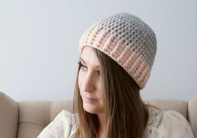 "Basic ""Top Down"" Crochet Hat"