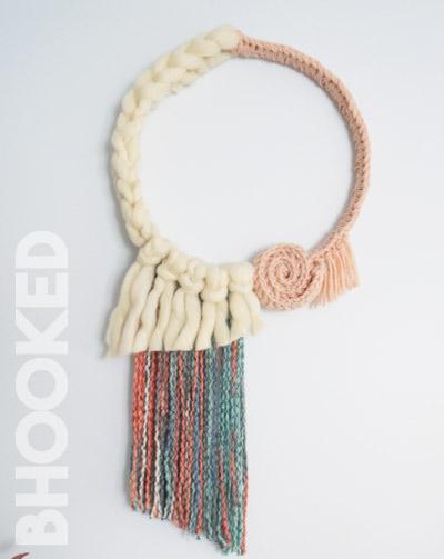 Easy Crochet Wall Hanging