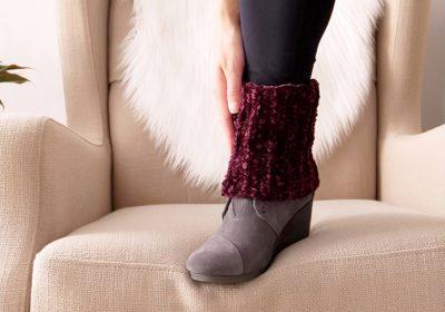 Crochet Short Boot Cuffs