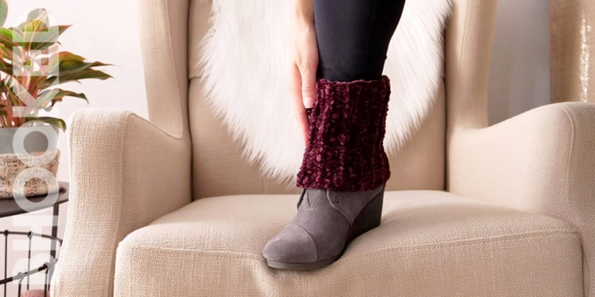 Crochet Short Boot Cuffs