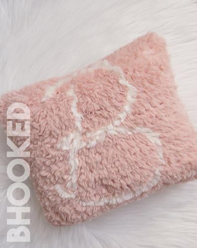 Monogram Crochet Pillow