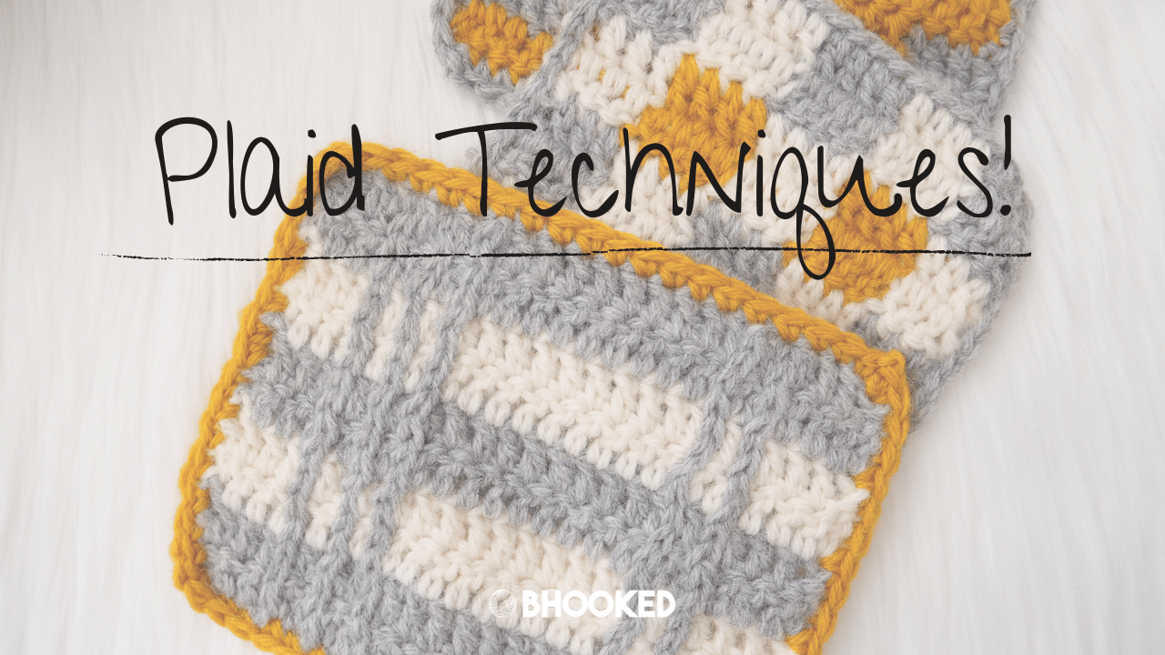 Three Ways to Crochet Plaid + a Simple Color Chart Option | B.Hooked TV
