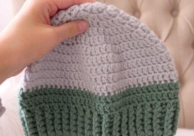 Basic Men's Crochet Hat