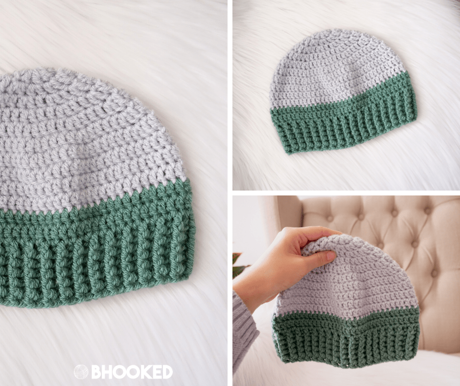 Basic Men's Crochet Hat | Crochet Challenge for Warm Up America